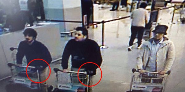 Suspected Paris attacks bombmaker blew himself up at Brussels airport