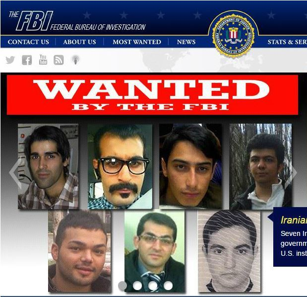 Iranians charged with hacking U.S. financial sector