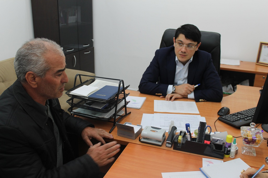 Deputat Fuad Muradov seçicilərlə görüşüb (FOTO)