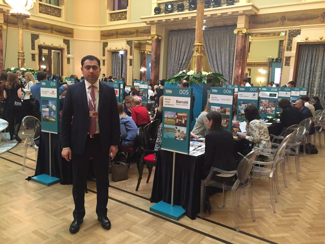 Azerbaijani AtaTravel takes part in Conde Nast Traveller Luxury Travel Fair