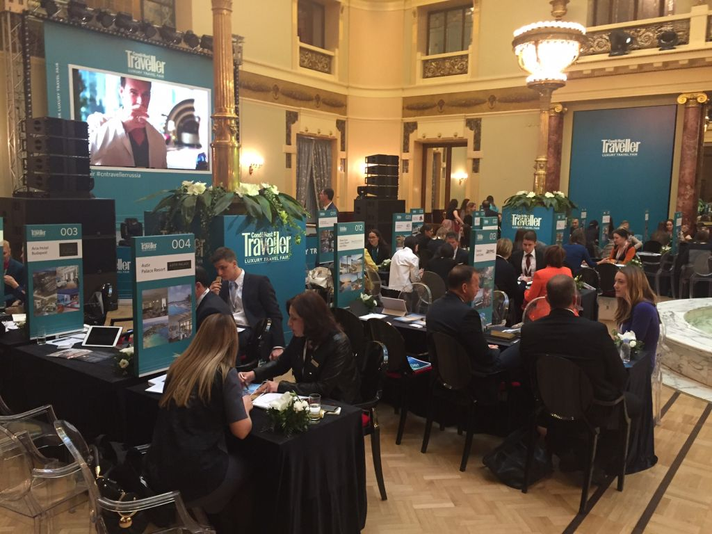 Azerbaijani AtaTravel takes part in Conde Nast Traveller Luxury Travel Fair - Gallery Image