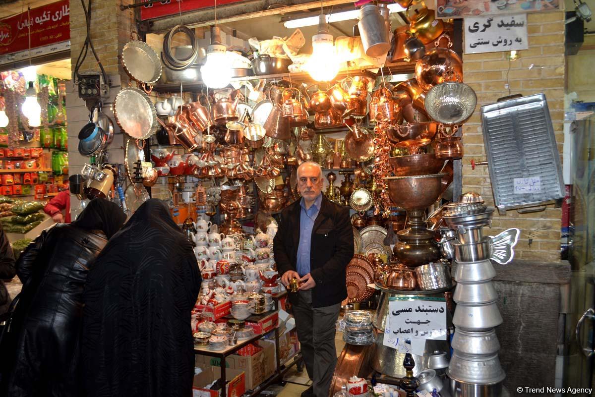 Qədim Tehran bazarından yeni fotosessiya (FOTO) - Gallery Image