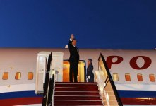 Dmitry Medvedev ends official visit to Azerbaijan (PHOTO) - Gallery Thumbnail