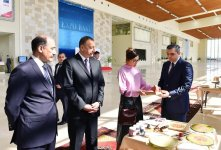 Ilham Aliyev with spouse attends Azerbaijan International Travel and Tourism Fair - Gallery Thumbnail