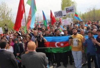 Protests in Turkey against occupation of Azerbaijani lands by Armenia