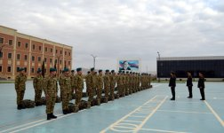 Azerbaijani peacekeepers depart for Afghanistan (PHOTO) - Gallery Thumbnail