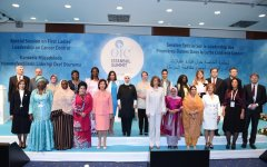 Azerbaijan's first lady attends special session on cancer control in OIC member states (PHOTO) - Gallery Thumbnail