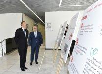 President Aliyev attends opening of Bakubus LLC's second bus depot - Gallery Thumbnail