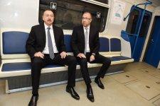 Azerbaycan'da daha 2 metro istasonu kullanıma girdi - Gallery Thumbnail