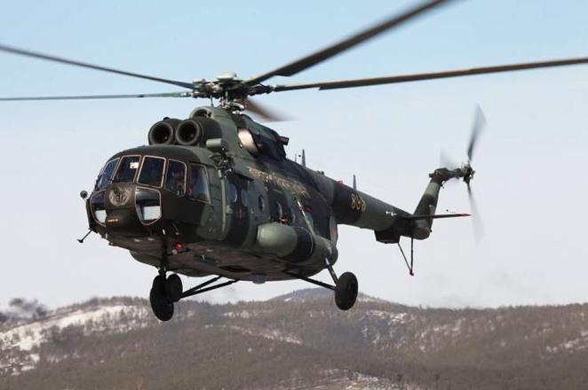 В Алеппо сбили вертолет ВС Сирии