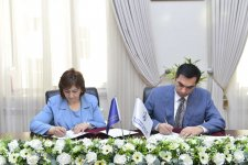 BHOS inks co-op agreement with Lyceum named after  Academician Zarifa Aliyeva - Gallery Thumbnail