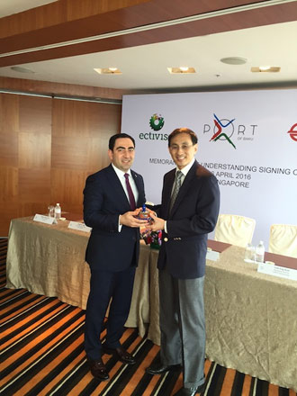 Singapore's companies to assist in introducing new technologies in Baku's free trade zone - Gallery Image
