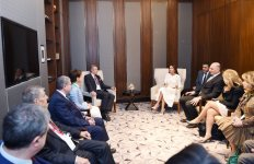 First lady: Azerbaijan-France cooperation based on friendship and mutual respect - Gallery Thumbnail