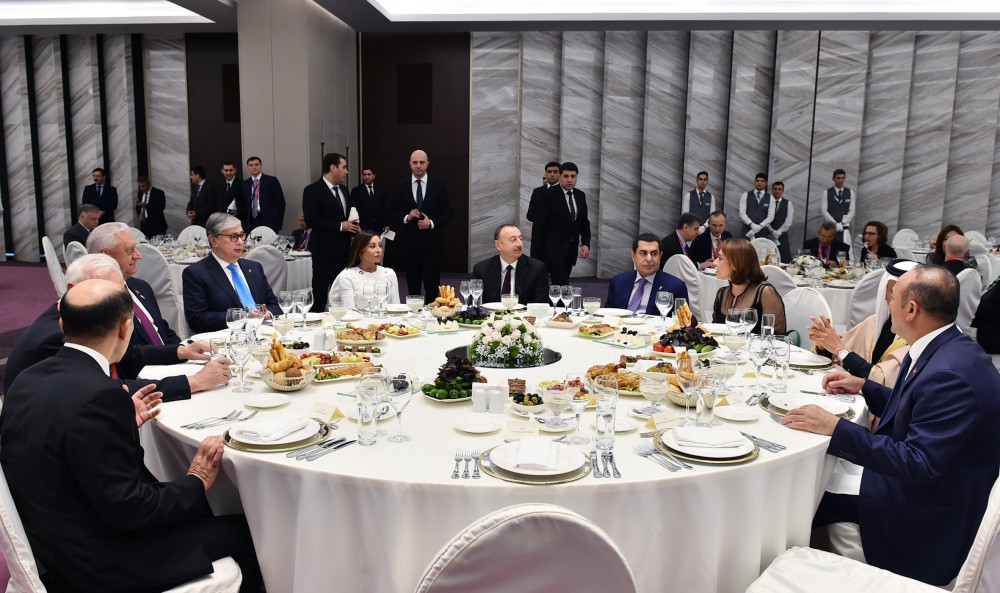 Dinner reception hosted in honor of participants of 7th Global Forum of UNAOC - Gallery Image