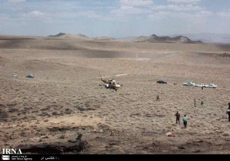 Iranian F-7 jet crashes (UPDATE) - Gallery Image