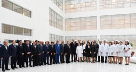 President Aliyev attends opening of Aghsu District Central Hospital's new building - Gallery Thumbnail