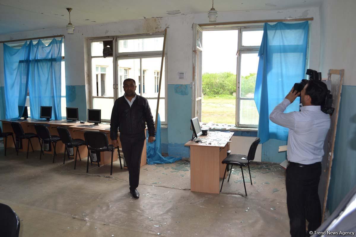 Ermenistan temas hattında Azerbaycan sivil yerleşim birimlerine ateş açmaya devam ediyor (Fotoğraf) - Gallery Image