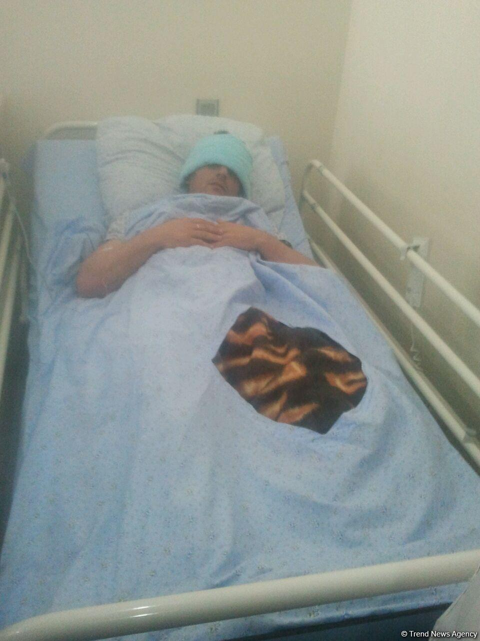 Several Azerbaijani civilians seriously wounded by Armenians (PHOTO) - Gallery Image