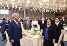 """Azerbaijan's First Lady Mehriban Aliyeva attends """"Citizenship and Social Responsibility: Tribute to Heroes"""" event at ADA University - Gallery Thumbnail"""