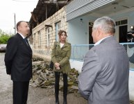 President Ilham Aliyev, his spouse visit Azerbaijan's Tartar, Barda and Aghdam districts - Gallery Thumbnail