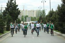 Gənclər Paytaxtında veloyürüş (FOTO) - Gallery Thumbnail
