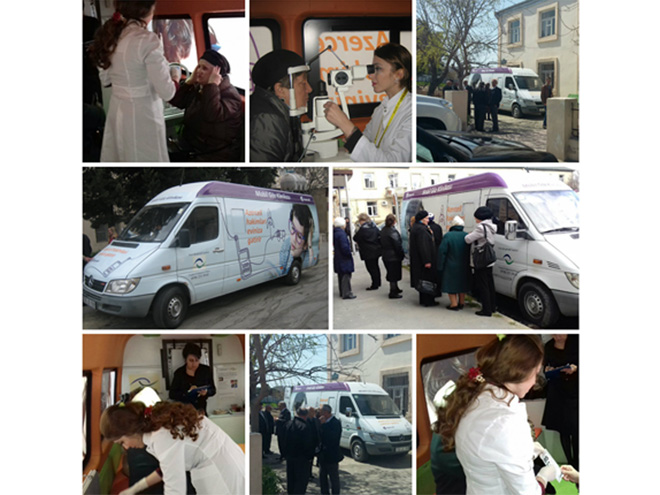 Azercell arranges free eye examination for almost 250 people