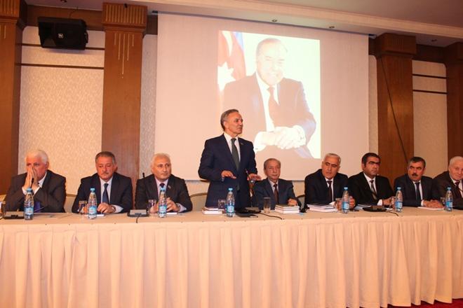 Состоялся вечер памяти посвященный годовщине со дня рождения общенационального лидера Гейдара Алиева