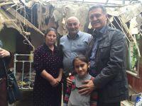 Türkiye Bakü Büyükelçisi Ermenistan saldırıları sonucu evleri zarar gören ailelerle bir araya geldi - Gallery Thumbnail