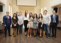 "Head of IDEA Public Union Leyla Aliyeva attends presentation of ""The End of the line"" documentary - Gallery Thumbnail"