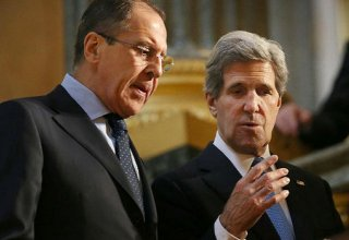 Lavrov, Kerry discuss steps to resolve Syrian conflict