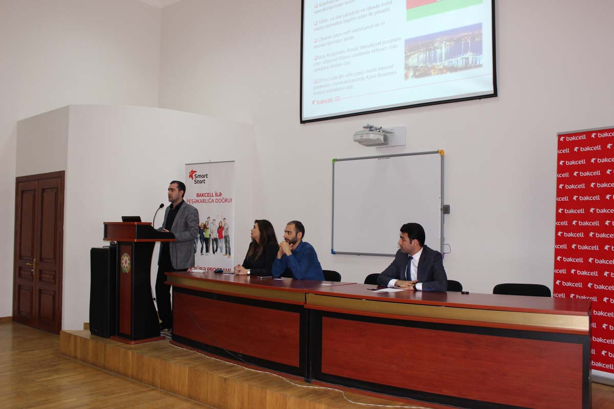 Bakcell representatives meet with students of two Azerbaijani universities