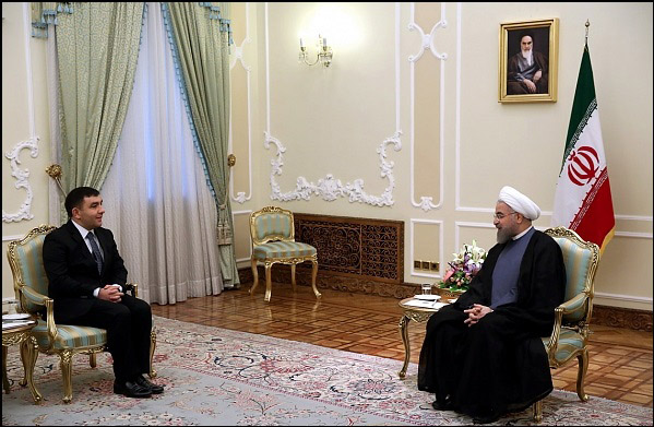 Iranian president calls for serious boost in relations with Azerbaijan (UPDATE)