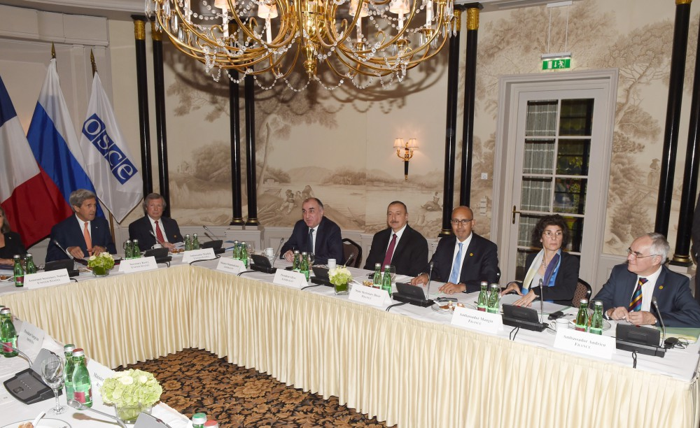 Presidents of Azerbaijan and Armenia hold meeting in Vienna - Gallery Image