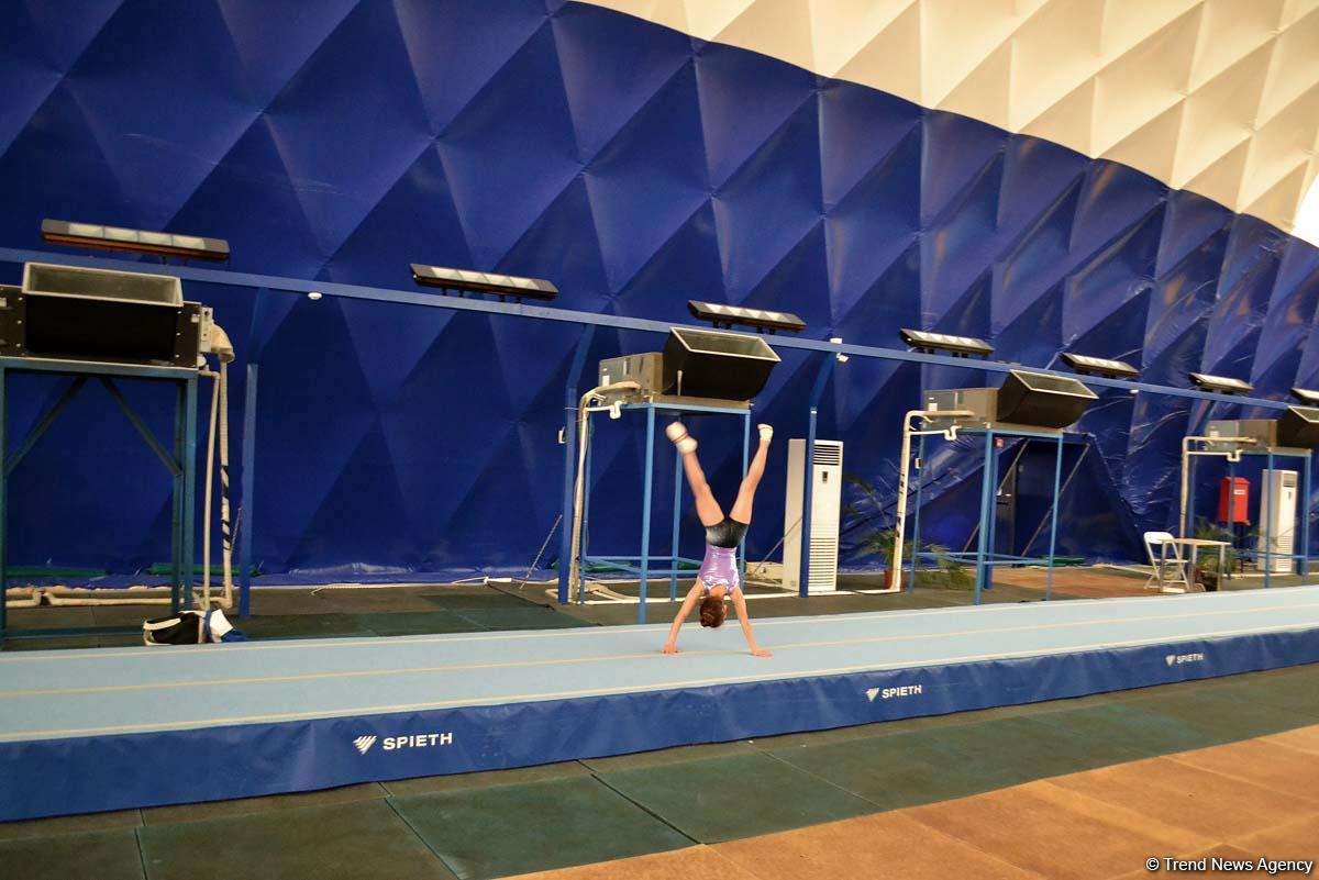 В уникальной Национальной Арене Гимнастики Азербайджана (ФОТО) - Gallery Image