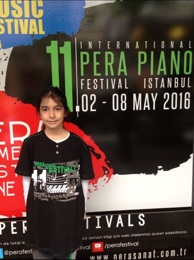 Student of British School in Baku becomes winner of Pera Int'l Piano Festival (PHOTO) - Gallery Image