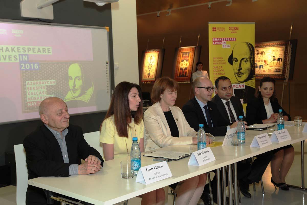 В Азербайджане проходит конкурс дизайна ковров, посвященных  Шекспиру (ФОТО) - Gallery Image