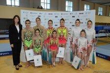 Состоялась церемония награждения победителей первенства Азербайджана и Баку по акробатической гимнастике (ФОТО) - Gallery Thumbnail