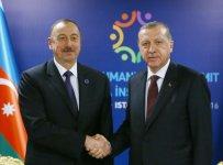 Azerbaycan ve Türkiye Cumhurbaşkanları görüştü (Fotoğraf) - Gallery Thumbnail