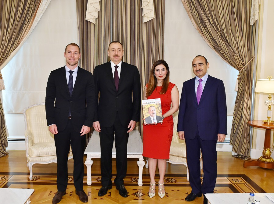 'The World`s Person of the Year 2015' award presented to Azerbaijan's president - Gallery Image