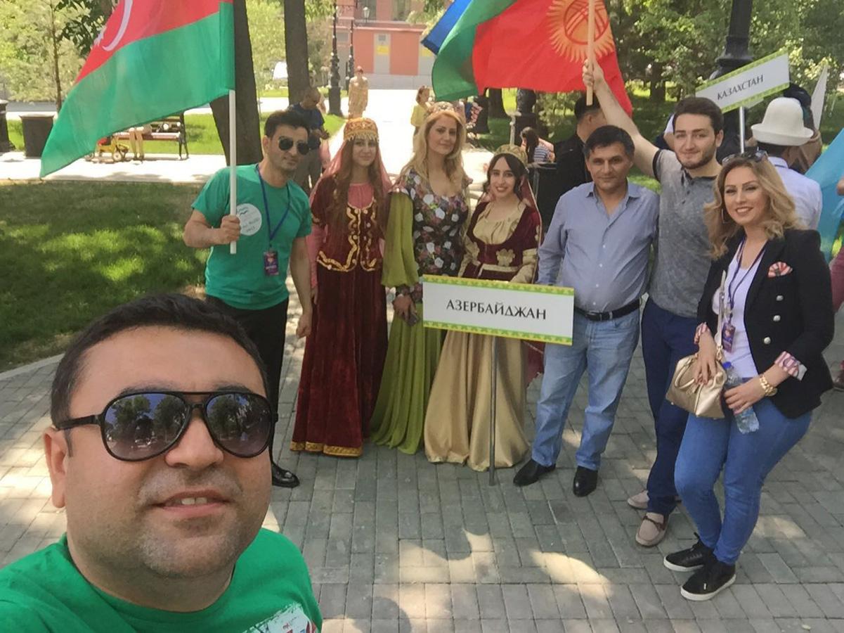 Представители Азербайджана на Международном фестивале тюркской молодежи в Уфе (ФОТО) - Gallery Image