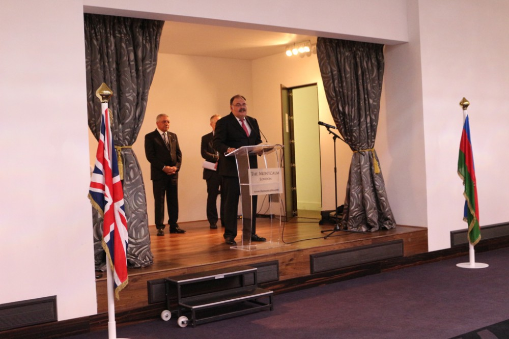 Republic Day of Azerbaijan marked in London (PHOTO) - Gallery Image