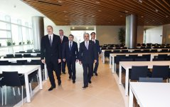 Cumhurbaşkanı Aliyev SOCAR'ın yeni binasının açılışına katıldı - Gallery Thumbnail