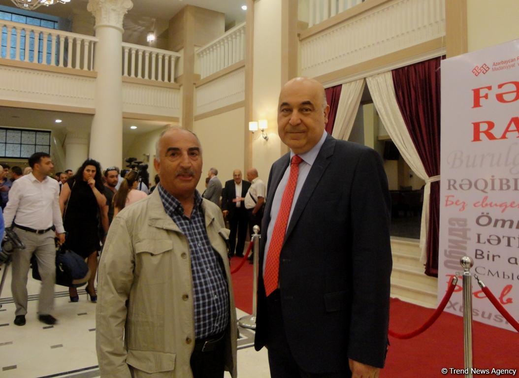 В Баку отметили юбилей Рамиза Фаталиева (ФОТО) - Gallery Image