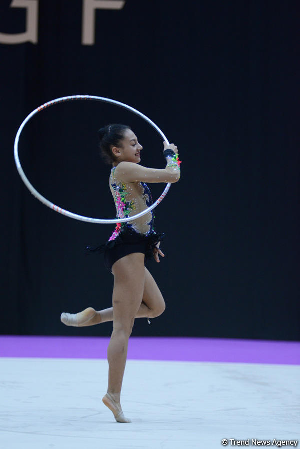 Azerbaijani gymnasts prepare for European championships in Israel (PHOTOS) - Gallery Image