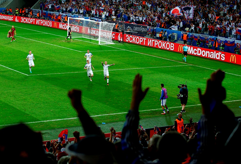 Россия проиграла Словакии на Евро-2016 (ФОТО) - Gallery Image