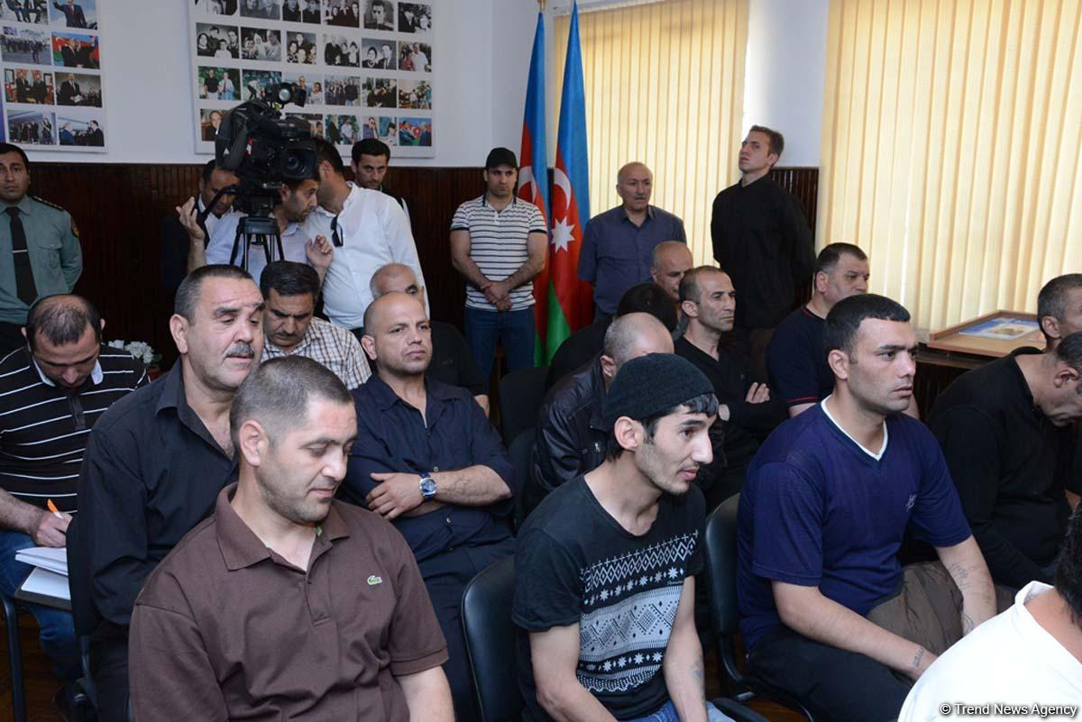 В исправительных учреждениях Азербайджана исполнен Акт об амнистии (ФОТО) - Gallery Image