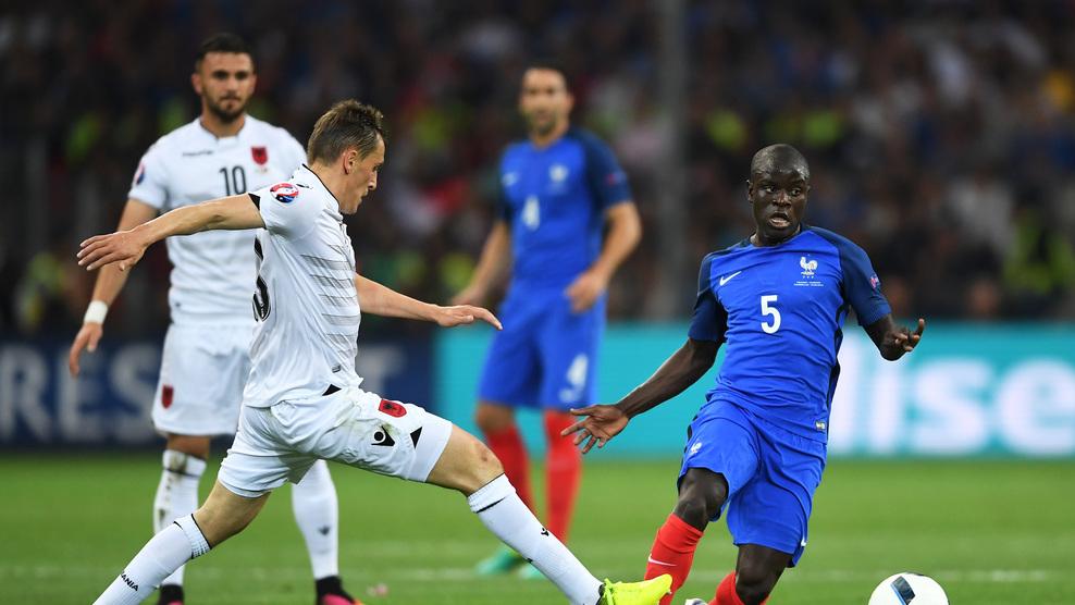 Fransa skoru son dakikalarda belirledi (Foto, Görüntü)