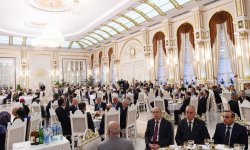 President Aliyev attends Iftar event on occasion of Ramadan - Gallery Thumbnail