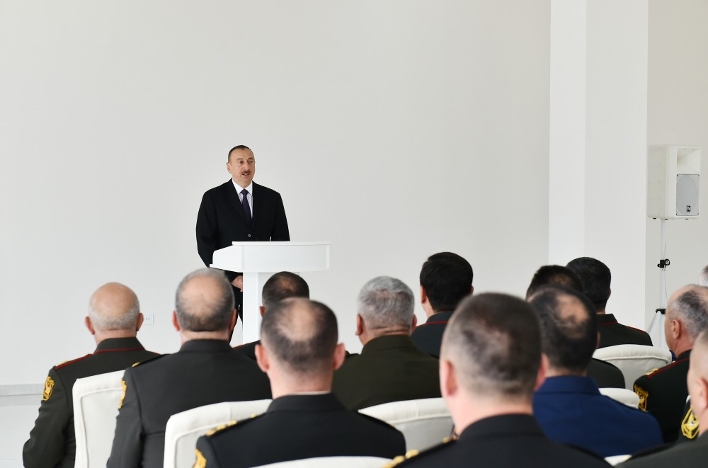 Ilham Aliyev: At current stage no use for incident investigation mechanism on contact line of Armenian, Azerbaijani troops