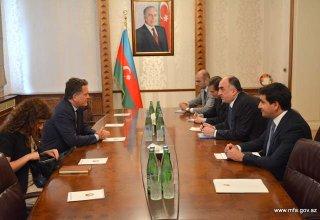 Azerbaijani FM receives Turkey's ambassador